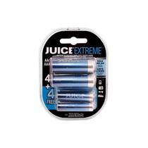 Pilhas RecarregÁVeis Juice Extreme 4 Aa E 4 Aaa - Oex
