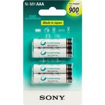 Pilhas recarregáveis Sony Enellop AAA 900mAh original -