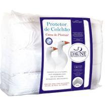 Pillow Top 85% Penas 15% Plumas de Ganso Solteiro King 100x200x08cm Daune -