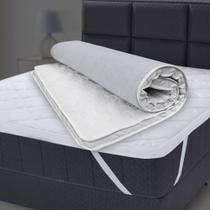 Pillow Top Casal De Espuma D33 Alta Durabilidade Conforto Firme 138x188x5cm - BF Colchões -