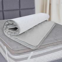 Pillow Top Casal De Espuma Firme D45 Alta Durabilidade 138x188x5cm - BF Colchões -
