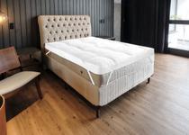 Pillow Top Casal Microfibra 200 Fios Com Enchimento Em Manta Siliconada - Cgc