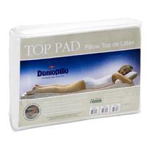 Pillow top de Látex Casal Queen size capa bambu 198X158X3 cm Top Pad Dunlopillo - Copespuma