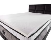 Pillow Top de Látex Espuma Queen 100% Natural 3,5cm - Bf Colchões