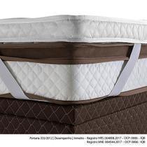 Pillow Top Herval Casal Protection, 7x138x188 cm, Elástico -