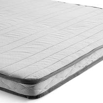 Pillow Top Herval Confort, Casal - com elástico, 8 x 138 x 188 -