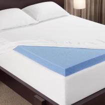 Pillow Top Infravermelho + Magnético Viscoelástico Gel Solteiro 88 - Aumar