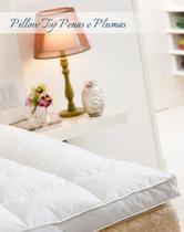 Pillow Top King 80% Penas 20% Plumas De Ganso Nomite - Plooma