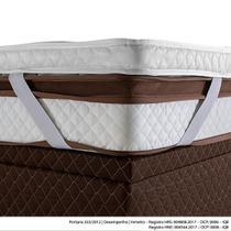 Pillow Top King Herval com Elástico, 9 x 193 x 203 cm -