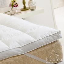 Pillow Top Plooma Casal 80% Penas 20% Plumas de Ganso Nomite -