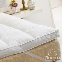 Pillow Top Plooma Casal 80 Penas 20 Plumas de Ganso -
