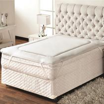 Pillow Top Protetor De Colchão Queen 1,60x2,00m Trisoft -