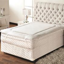 Pillow Top Protetor De Colchão Solteiro 0,90x1,90m Trisoft -