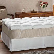 Pillow Top Queen Victor Branco - Plumasul