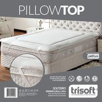 Pillow Top - Solteiro - 0,90m x 1,90m - Trisoft -