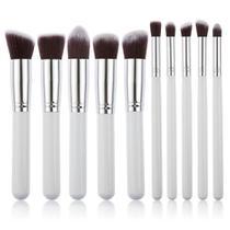 Pinceis Kit Kabuk 10 Peças Maquiagem  Sombra Base - Shoopweb