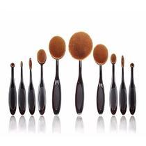 3acfa31593857 Pincel Escova Oval para Maquiagem - Kit C 10 - Cm