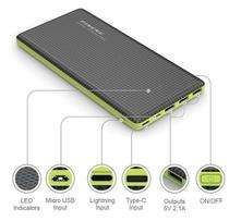 Pineng Original Carregador Power Bank Slim 20000 Com Selo
