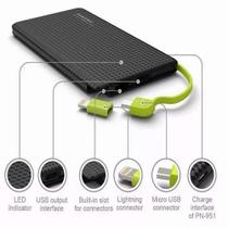 Pineng Power Bank Original Universal  Pn-951 Slim 10.000 Mah