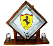 Pingometro de Bloco de vidro -  Ferrari -