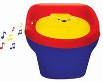Pinico Infantil Troninho Criança Styll Baby Musical Azul -