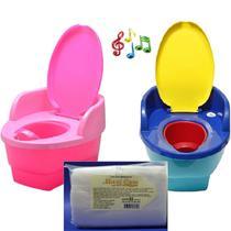 Pinico Musical Love Redutor Degrau + 250 Lencinhos umedec -