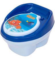 Pinico Troninho Azul Infantil Procurando Nemo Vira Banquinho - Styl Baby