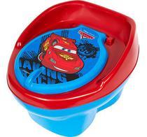 Pinico Troninho Azul Infantil Tema Carros Vira Banquinho - Styl Baby