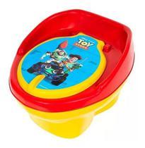 Pinico Troninho Azul Infantil Toy Story Vira Banquinho - Styl Baby