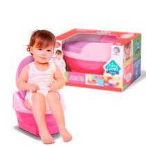 Pinico Troninho de Transição 2x1 Infantil Pipinico Rosa Cardoso Toys -