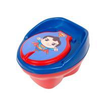 Pinico Troninho Infantil Super Homem Com Banquinho - Styl Baby