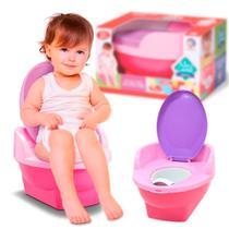 Pinico troninho pipinico cardoso toys menina rosa -