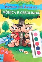 Pintando com Aquarela Mônica e Cebolinha Ed. 2 - Livro + Aquarela - Online -