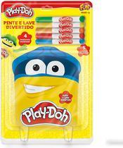 Pinte e Lave Divertido - 4 Desenhos - Play-Doh - Fun - Barao Atacadista