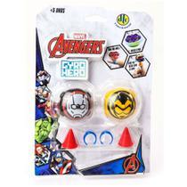 Piões de Batalha Giro Hero Disney Marvel Avengers Homem Formiga e Vespa 4923 - DTC -
