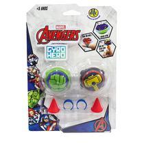 Piões de Batalha Giro Hero Disney Marvel Hulk e Thor 4923 - DTC -