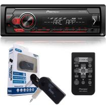 Pioneer Aparelho De Som Mvh-s118ui Mp3 Mixtrax Controle Usb + Adaptador Bluetooth -