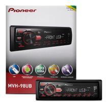 Pioneer Auto Radio Carro Mp3 Player Mvh-98ub Usb Receiver -