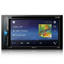 Pioneer Avh a208 bt Dvd Automotivo 6.2 Pol Bluetooth Rms Usb -