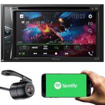 Pioneer Central Multimídia Avh-g228bt Tela 6.2 Usb 2 Din Bluetooth Spotify + Câmera de Ré -