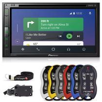 Pioneer Central Multimídia Avh-z5280tv Bluetooth Espelhamento Weblink Youtube + Controle 500m Alcance -