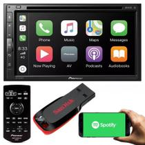 Pioneer Central Multimídia Avh-z5280tv Waze Espelhamento Bluetooth Spotify + Pendrive -