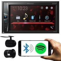 Pioneer Central Multimídia Dmh-g228bt Tela 6.2 Usb 2 Din Bluetooth Spotify + Câmera de Ré -