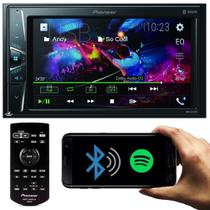 Pioneer Central Multimídia Dmh-g228bt Tela 6.2 Usb 2 Din Bluetooth Spotify -