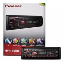 Pioneer mvh-98ub - usb/aux/amfm/mp3/said arca/inter p/ adroid/ -