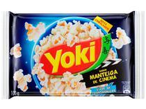 Pipoca de Micro-ondas Yoki Manteiga de Cinema - 100g