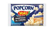 Pipoca de Microondas Manteiga de Cinema 100g Yoki - Festabox