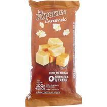 Pipoca Doce  Popcorn - Tradicional de Panela - sabor Caramelo - Flavored Popcorn