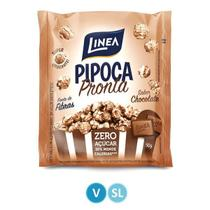 Pipoca Pronta Chocolate Zero Açúcar Linea -