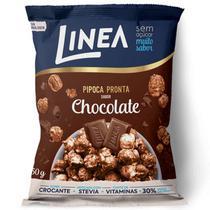 Pipoca Pronta Sabor Chocolate Linea 50gr -